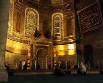 Ayasofya'dan Filistin halkına dua