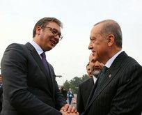 Sırbistan Cumhurbaşkanından Erdoğana teşekkür