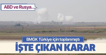 Son dakika haberi...  ABD ve Rusya, BMGK'nin Türkiye'yi kınamasına onay vermedi