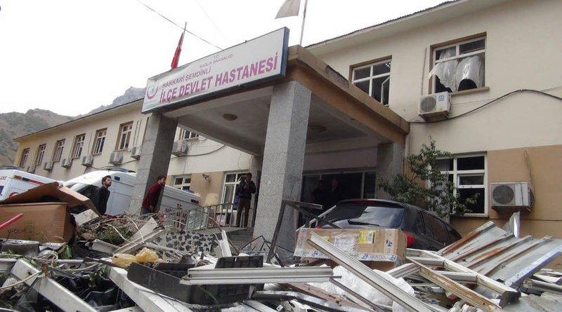 Hakkari'deki saldırının görüntüleri