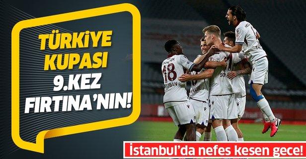 Türkiye Kupası Trabzonspor'un!