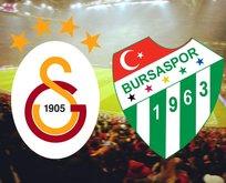Galatasaray - Bursaspor maçı saat kaçta?