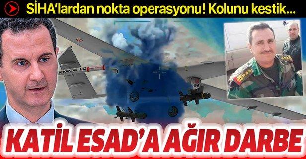 SİHA'lardan katil Esad'a ağır darbe!