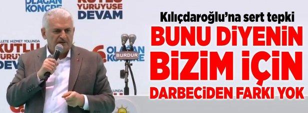 Başbakan Yıldırım'dan KHK eleştirilerine sert cevap