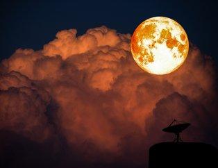 Kanlı ay tutulması başladı! Kanlı ay tutulması Türkiye'den görülüyor mu?