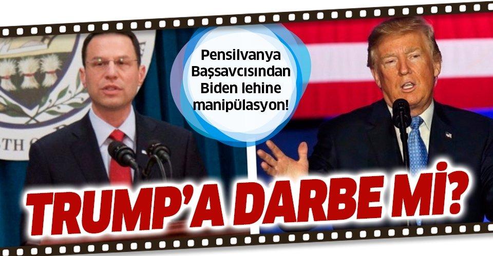 Pensilvanya Başsavcısından Biden lehine manipülasyon!