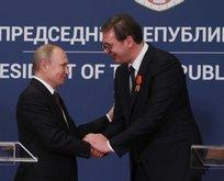 Putin ve Vucic'ten Türkiye mesajı