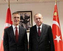 Erdoğan'dan NATO Genel Sekreteri Stoltenberg ile kritik görüşme