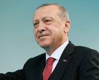 Başkan Erdoğan'dan 12 Dev Adam'a destek mesajı!