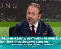 Galatasaray o oyuncularla sözleşme imzaladı!