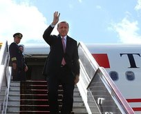 Başkan Erdoğan Azerbaycan'a gitti