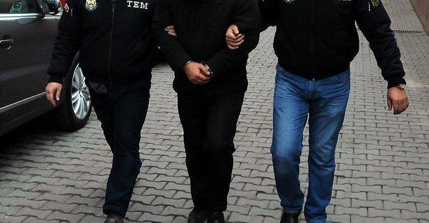 Eylem için Van'a gelen terörist tutuklandı