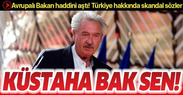 Jean Asselborn'dan Türkiye hakkında küstah sözler
