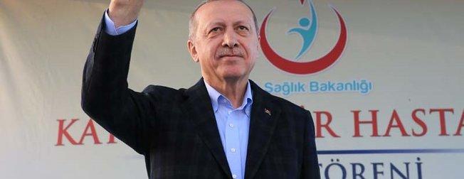 Cumhurbaşkanı Recep Tayyip Erdoğan, Kayseri Şehir Hastanesi Açılış Törenine katıldı