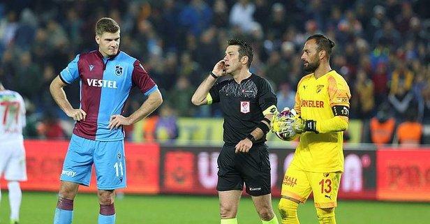 Trabzonspor'dan Aydınus ve VAR hakemine tepki