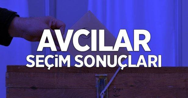 İstanbul Avcılar 2019 yerel seçim sonuçları