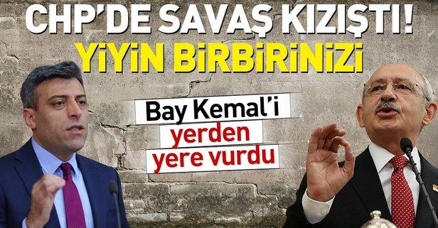 CHP'li Yılmaz'dan Kılıçdaroğlu'na sert sözler!