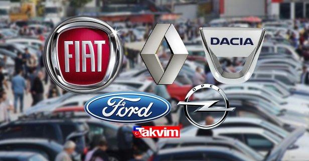 Sahibinden satılık 72.350 TL altı ikinci el otomobil modelleri!