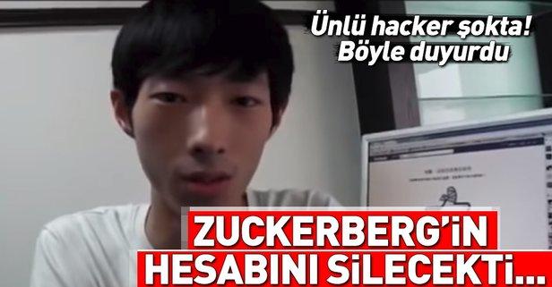 Zuckerberg'in hesabını silecekti kendi hesabı silindi!