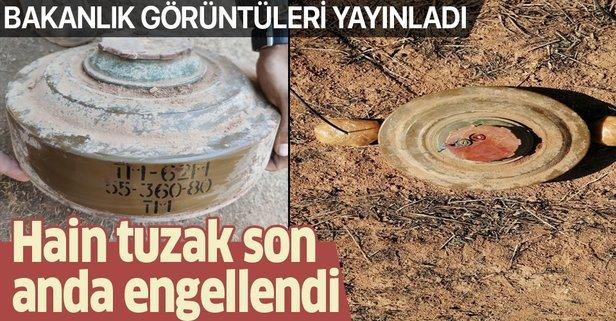 Barış Pınarı bölgesindeki hain tuzak engellendi
