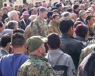 ABDli komutan terörist cenazesine katıldı