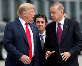 Cumhurbaşkanı Erdoğan, Trumpla görüştü