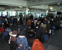 Atatürk Havalimanı'nda büyük heyecan!
