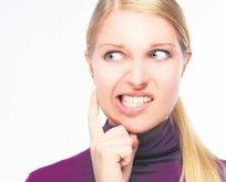 Stres dişleri vuruyor
