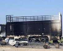 Türkiyenin vurduğu terör konvoyunun gündüz fotoğrafları ortaya çıktı!