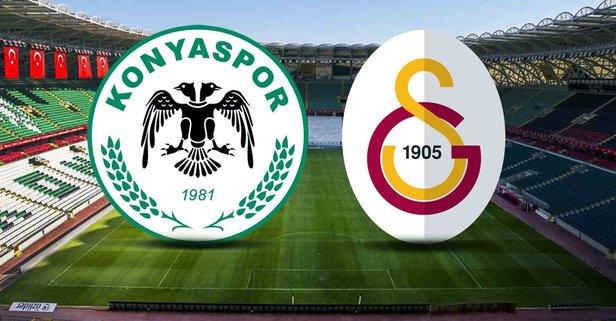 Konyaspor - Galatasaray maçı saat kaçta?