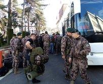 Polis Özel Harekat, sınır hattına gidiyor!