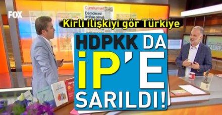 Kirli ilişkiyi gör Türkiye! HDPKK da İP'e sarıldı