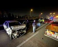 İzmir-İstanbul-Bursa Otoyolu'nda feci kaza
