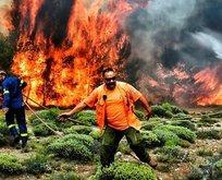 Komşu yanıyor! Yerleşim yerleri tehdit altında
