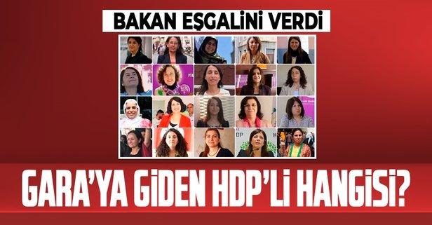 Garaya giden HDP'li vekil kim?