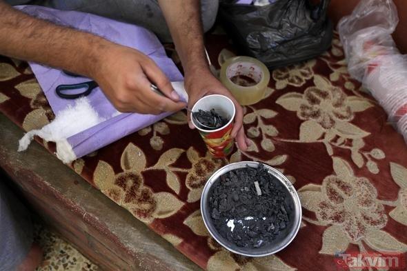 İdlibde yaşayanlar iki aydır toprağı kazıyor