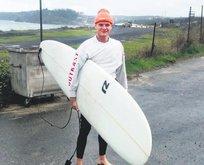 Sörfe engel yok