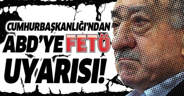 İletişim Başkanı Fahrettin Altun'dan Amerikan Kamuoyuna FETÖ uyarısı!