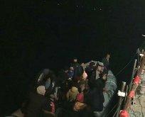 Çanakkale'de 51 kaçak göçmen yakalandı!