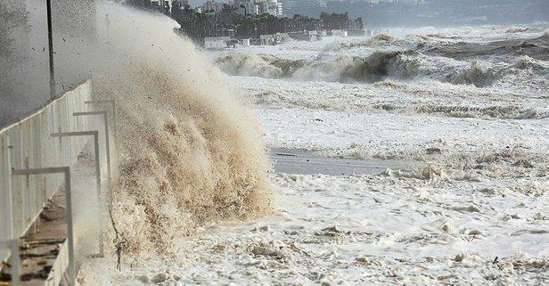 Meteoroloji'den iki bölge için fırtına uyarısı