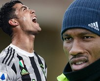 Drogba bunu da yaptı! Cristiano Ronaldo...