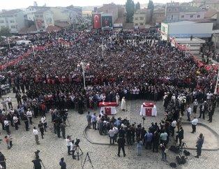 Sivasta mahşeri kalabalık! Binlerce insan cenazeye akın etti