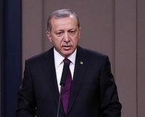 Erdoğandan Fuat Sezgin için başsağlığı mesajı