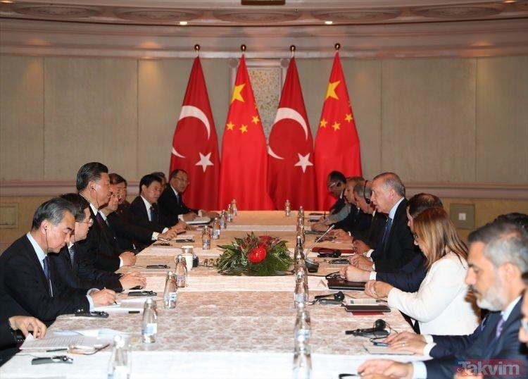 Başkan Erdoğan BRICS zirvesinde Putin ve Şi ile görüştü