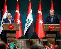 Erdoğan'dan Irak ile Askeri iş birliği açıklaması