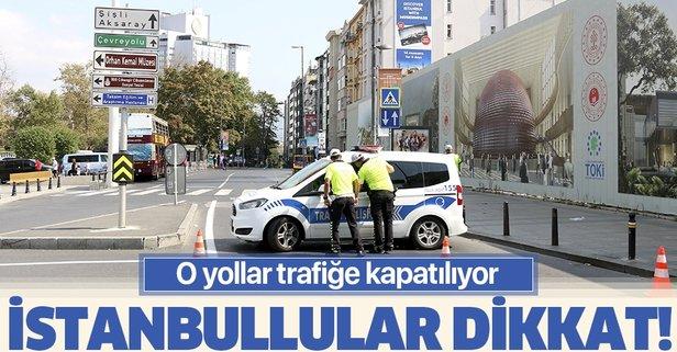 İstanbul trafiğine Süper Kupa engeli! İşte kapatılan yollar...