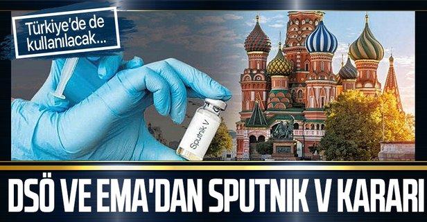DSÖ ve EMA'dan Sputnik V kararı