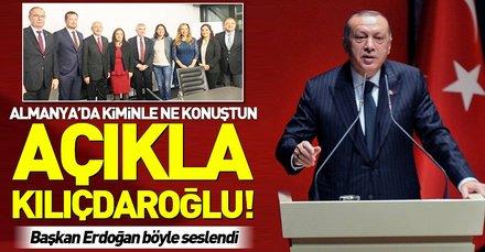 Yerel seçimler öncesi Kemal Kılıçdaroğlu Almanya'da kimlerle ne görüştü?