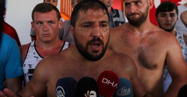 Recep Kara Kırkpınar güreşlerini bıraktı!