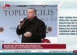 Başkan Erdoğan, Kılıçdaroğlu'na sert çıktı: Sen İstiklal Marşı'nı okumayanlarla nasıl kol kola giriyorsun?